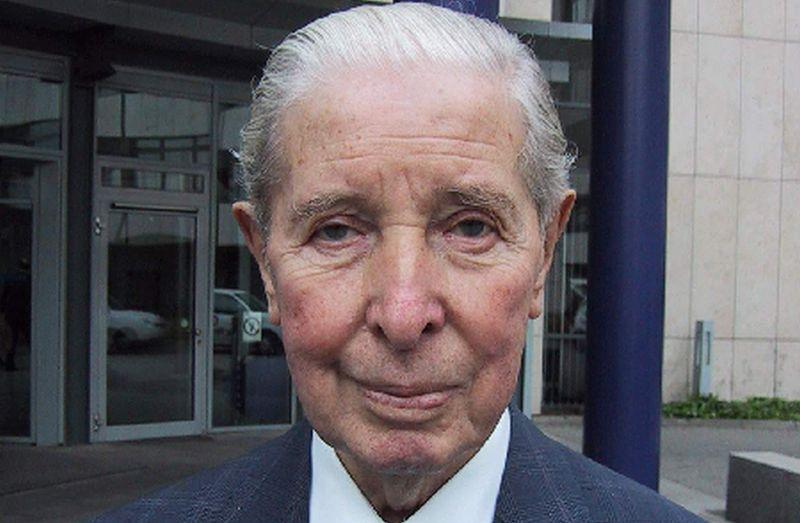 Franz Loogen in seinen letzten Lebensjahren (Foto via f95.de)