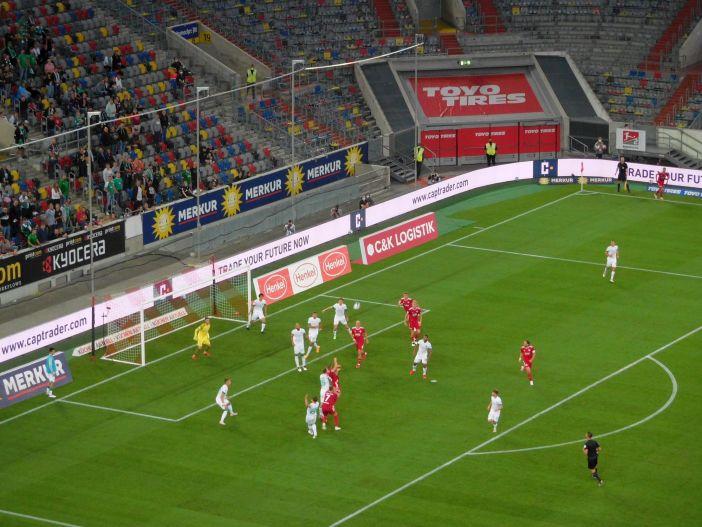 F95 vs Bremen: Zwei, drei gute Chancen in der ersten Halbzeit (Foto: TD)