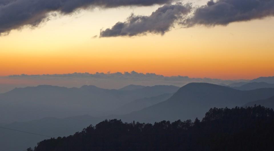 San Jose del Pacifico - Sunset