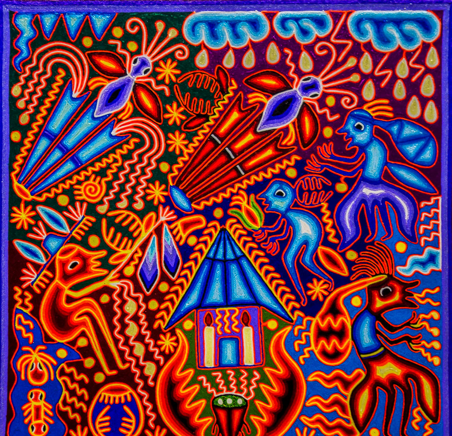 Mexican Art  Huichol Art  The Earlybird