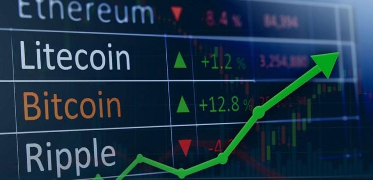 Cryptocurrencies losing ground