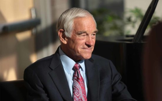 Republican Ron Paul on Bitcoin; 'People Should Have the Right to Choose'
