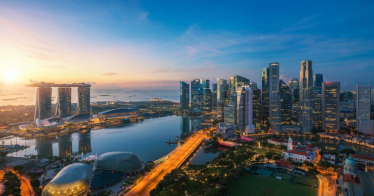 Singapore first cryptocurrency trial Quoine B2C2