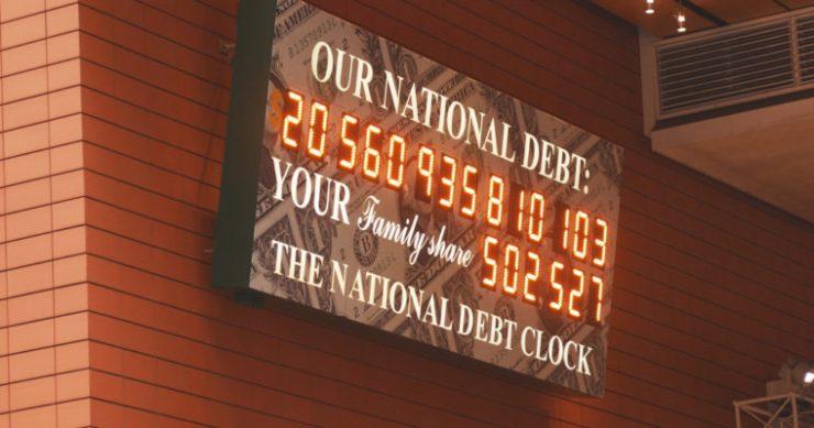 US debt bitcoin crypto