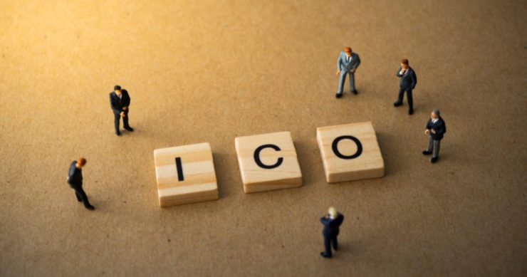 ICO Initial coin offering crypto token sale