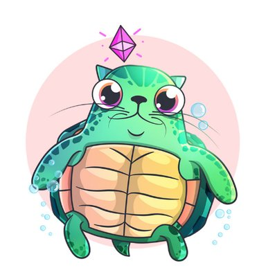CryptoKitties Honu Kitty