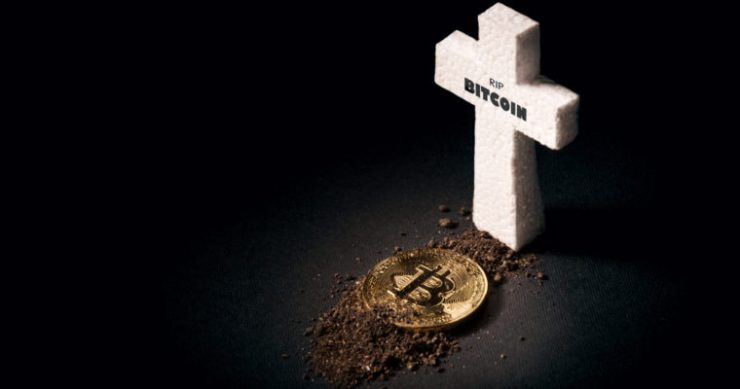 bitcoin price obituary