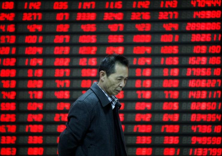 china stock market recession economy gdp
