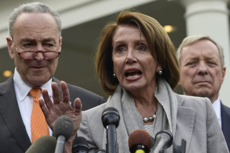 nancy pelosi chuck schumer government shutdown