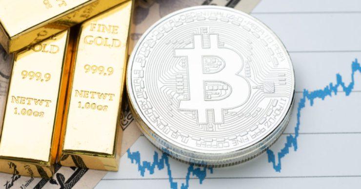 bitcoin gold bar crypto cryptocurrency
