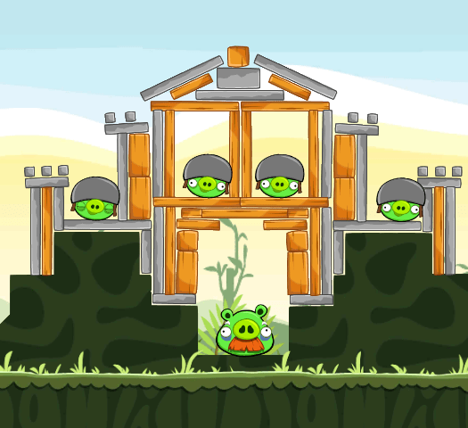 Angry Birds on Windows Phone 7