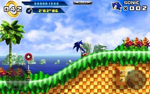 New to Xbox on Windows Phone: Sonic The Hedgehog 4 Episode 1