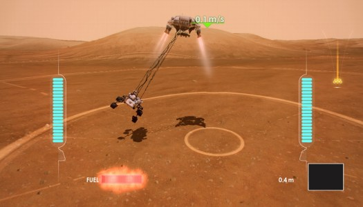 Mars Rover Landing coming to Kinect Fun Labs