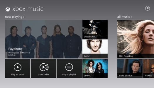 Xbox Music Gets Updated
