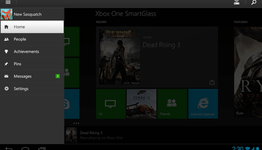 Xbox One SmartGlass now available if you're a Windows Phone, iPhone, Windows 8 or Android User