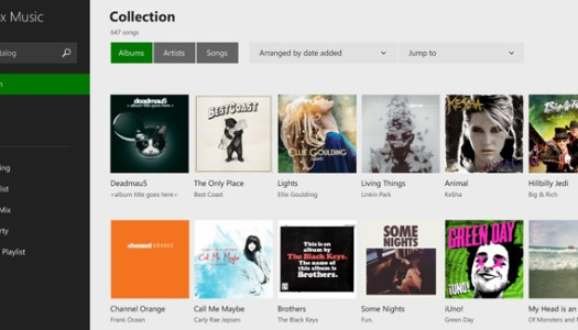 The Xbox Music app, for Windows 8.1, was updated this week.