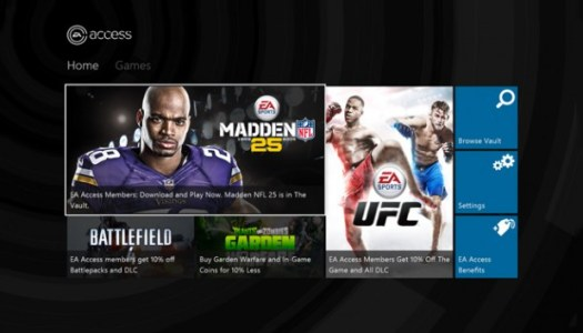 EA Access arrives on Xbox One for all