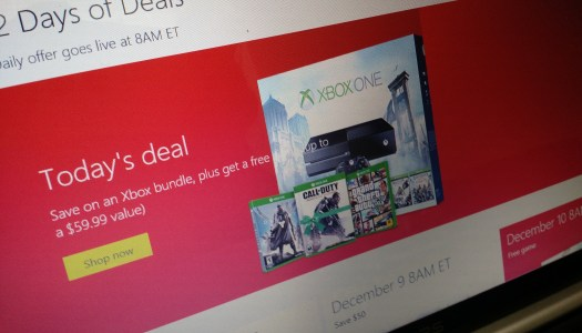 Buy an Xbox One from Microsoft, get a free game