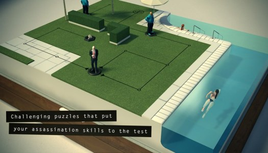 Hitman Go is board game for Windows & Windows Phone