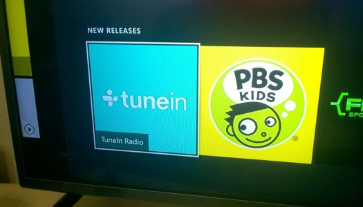 TuneIn and PBS Kids Video arrive on Xbox One