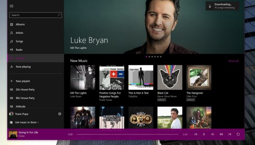 Groove Music for Windows 10