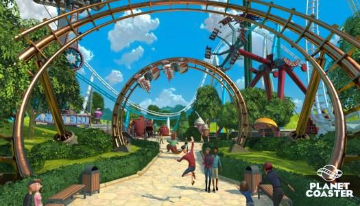 Planet Coaster launch trailer