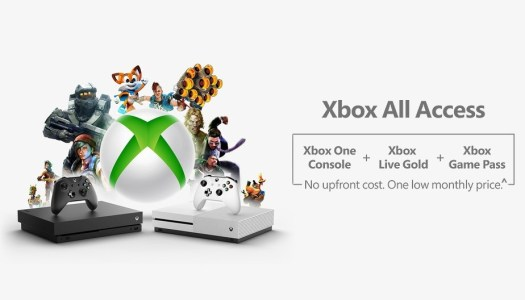 Xbox All Access makes buying the complete Xbox One experience shockingly less plainful for some