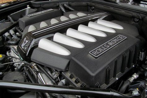 rolls royce dawn review engine angle