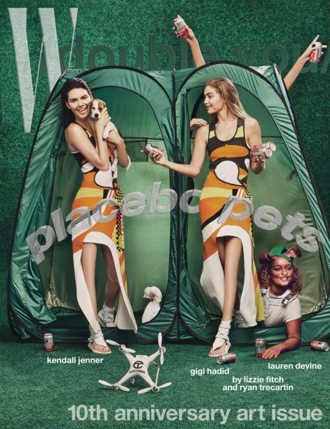 Kendall Jenner and Gigi Hadid's W Magazine Cover