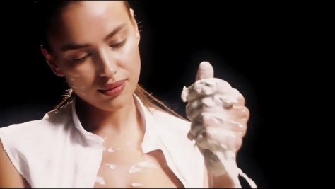 Irina Shayk's Love Advent Video