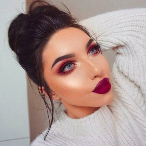 """This Fiery Makeup Trend Gives a Whole New Meaning to the Term """"Red Eye"""""""