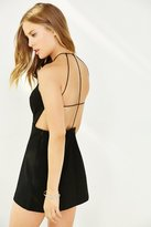 Silence + Noise Mekka Strappy-Back Dress