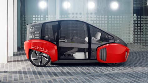 """Hailing from Switzerland, the Rinspeed is the ambitious vision of <a href=""""http://www.rinspeed.eu/unternehmen.php?uid=1"""" target=""""_blank"""">Frank M. Rinderknecht</a> who describes his creation as a """"clever urban runabout."""" Perhaps uniquely, the Oasis includes space for you to grow vegetables."""