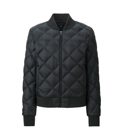 Uniqlo Women Ultra-Light Down Ribbed Blouson