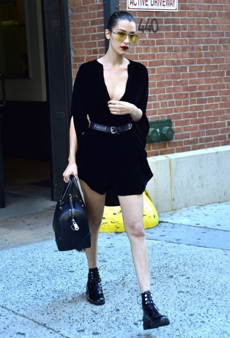 A Casual Black Dress For Warm Weather