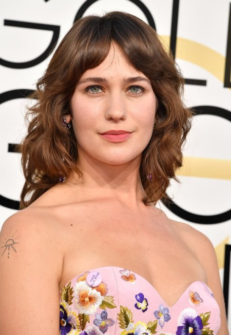 Lola Kirke's Pink Pin Comes With a Bold Message