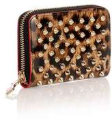 Panettone leopard spikes coin purse