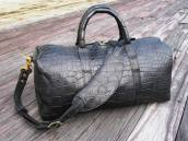 PRO SPORTS BLACK ALLIGATOR DUFFEL