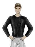 mens black jacket 1