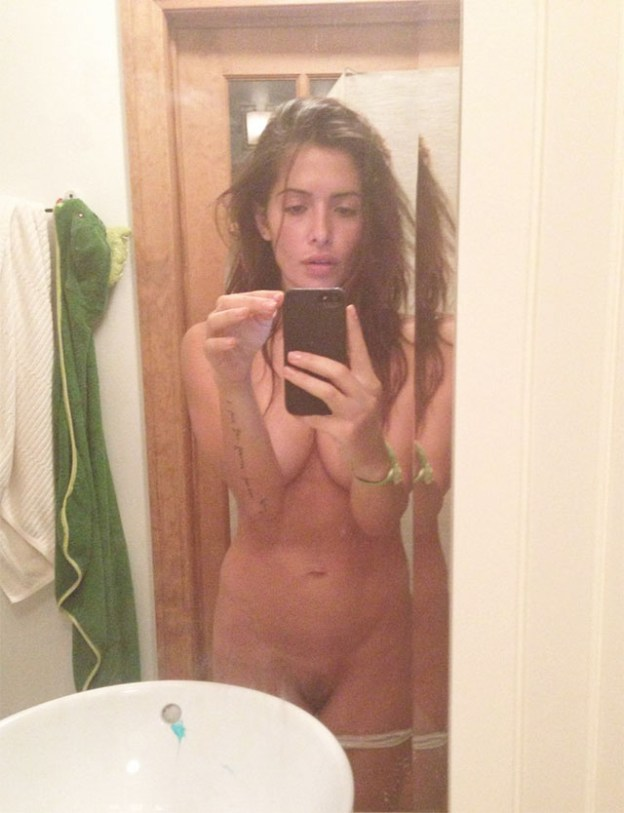 Actress Sarah Shahi Leaked Nude Selfies