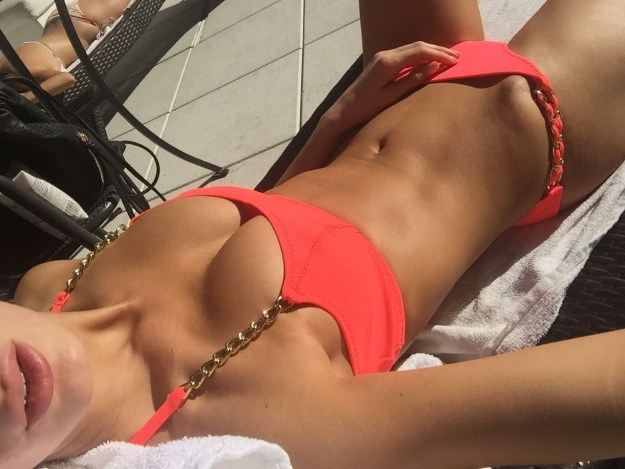 Victoria's Secret model Tika Camaj The Fappening Leaked Nude