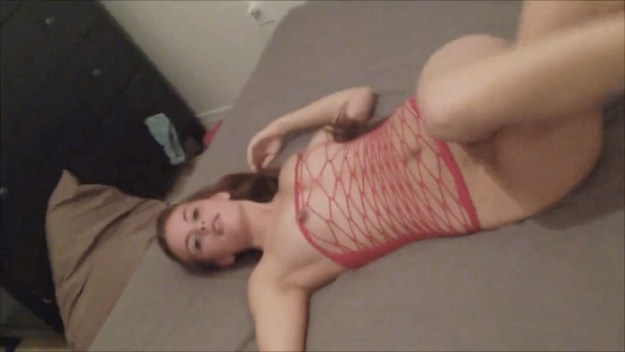 Allison Parker Leaked Blowjob and Facial Wearing Red Top