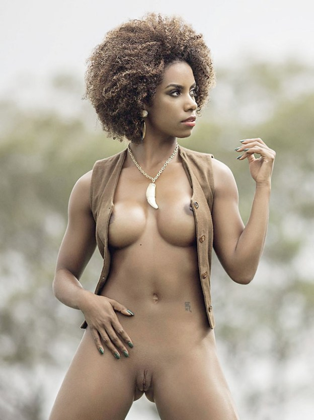 Brazilian Dancer Ivi Pizzott Naked for Playboy