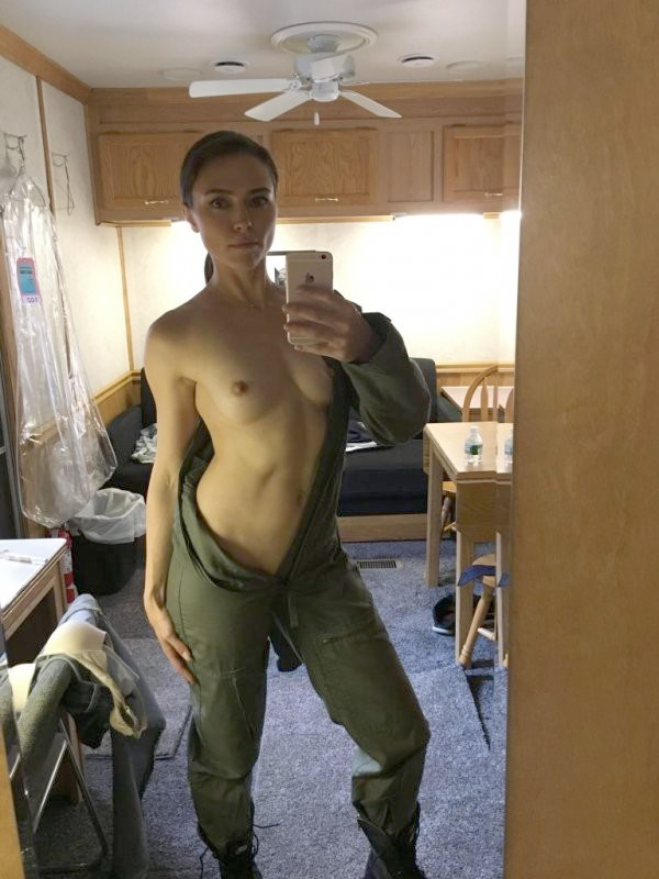 Trieste Kelly Dunn Leaked Fappening Nude and Masturbating Selfies