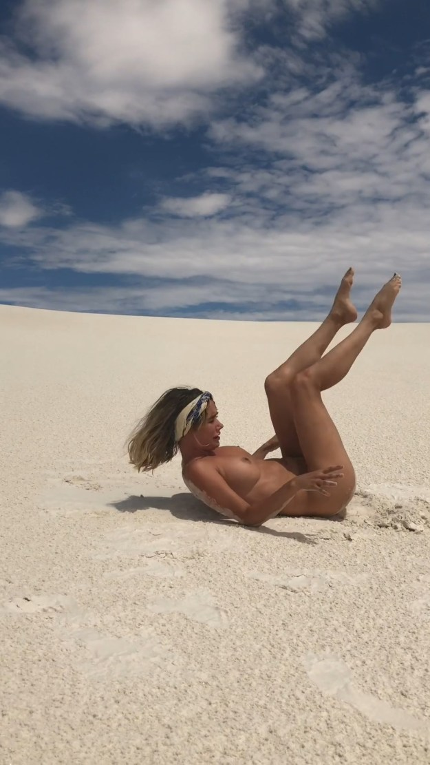 Sara Underwood Leaked Nude Desert Photos and Videos The Fappening 2018