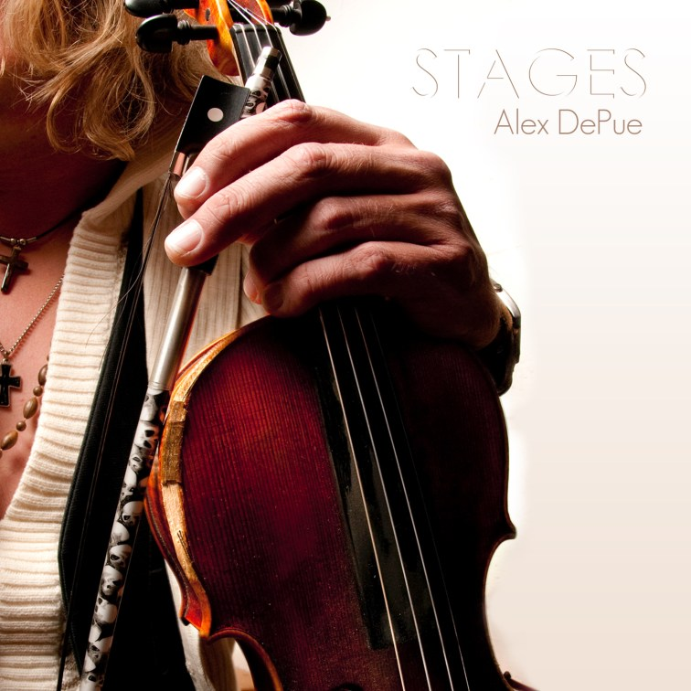 Stages Album Cover Alex With Violin