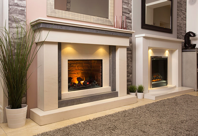 Gas Fireplace Types Inset Electric Fires - The Fireplace Studio
