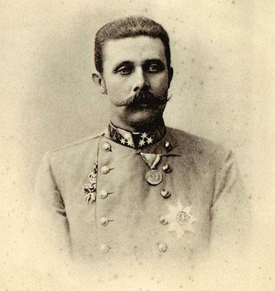 L'archiduc Franz Ferdinand d'Autriche