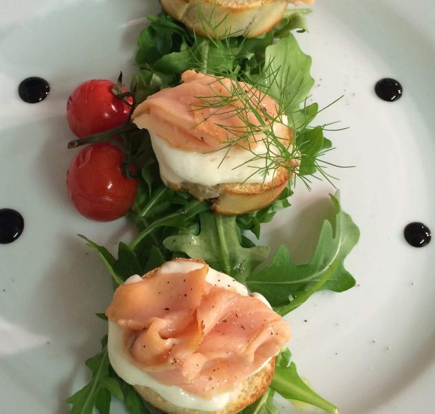 Delicious starter from our restaurant