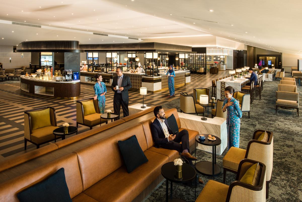 馬來西亞航空吉隆坡機場新貴賓休息室 | 常旅客